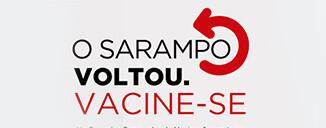 Campanha contra o sarampo tem foco em pessoas com idade entre 20 e 29 anos